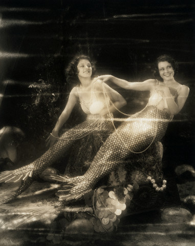 Vintage Sunday--Mermaids